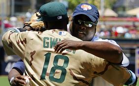 Tony Gwynn and Tony Gwynn, Jr.